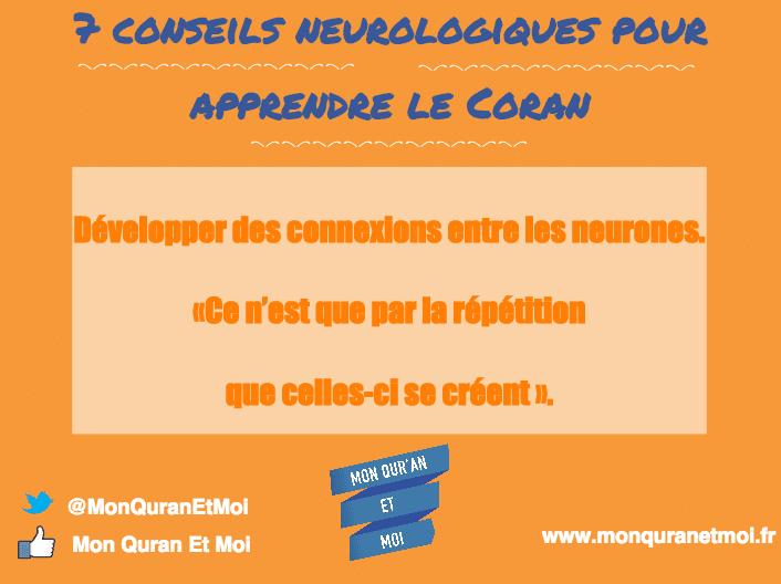 7 conseils neurologiques pour apprendre le Coran