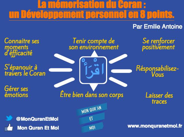 La mémorisation du Coran : un développement personnel en 8 points par Emilie Antoine
