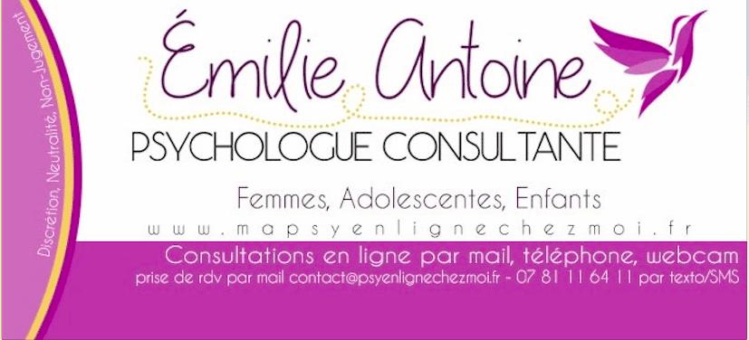 Emilie Antoine - Ma psy en ligne chez moi - Mon Quran et moi