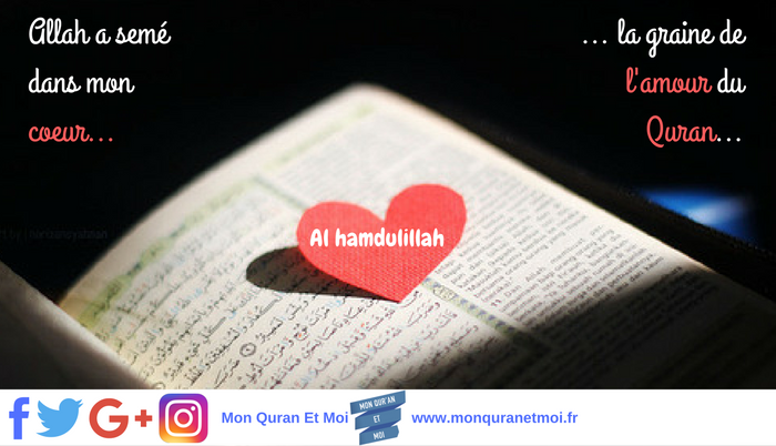 Allah, Coran, Coeur Mon Quran et moi