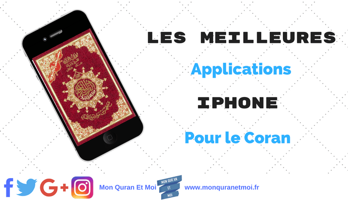 Applications iPhone Coran