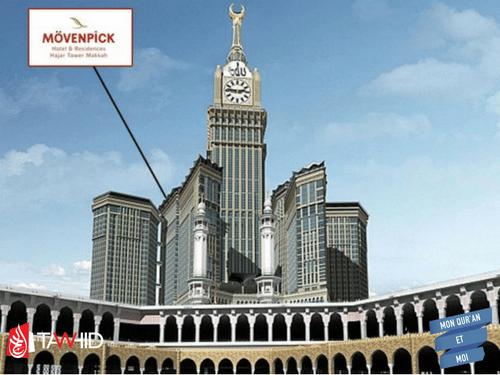 Movenpick hotel La Mecque Omra Tawhid Travel