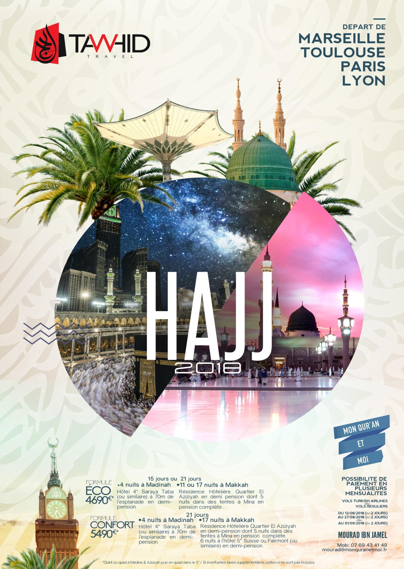 Hajj 2018 Tawhid Travel