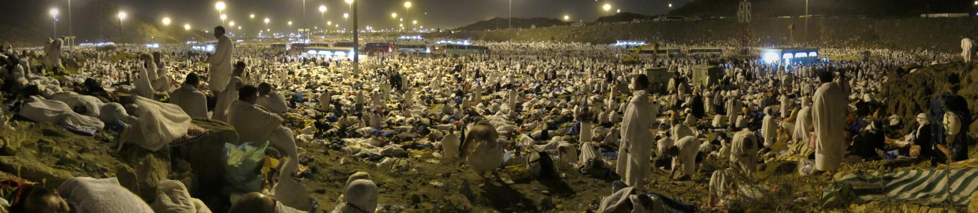 Muzdalifah La Mecque Hajj Mon Quran et moi