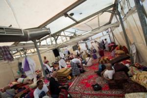 Se préparer au Hajj - A l'intérieur des tentes de Mina