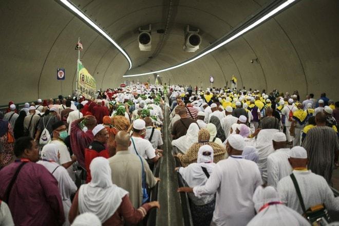 Se préparer au Hajj - Les tunnels