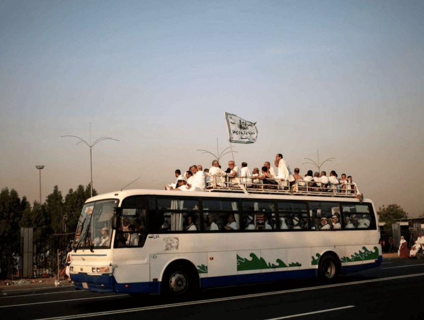 Se préparer au Hajj - les transports pendant Al Hajj